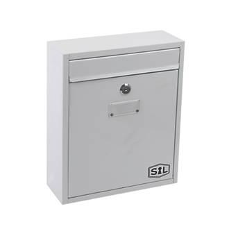 Boîte aux lettres compacte Smith&Locke à revêtement par poudrage blanc