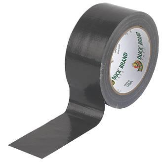 Ruban adhésif toilé maille50 Duck Original noir 25m x50mm