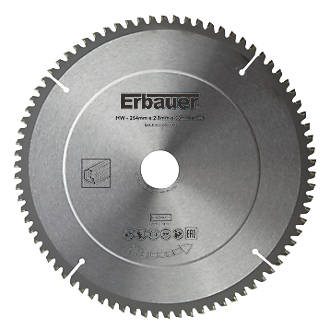 Lame de scie TCT 80dents Erbauer 254 x 30mm