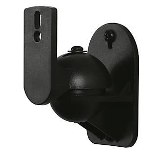 Lot de 2petits supports de haut-parleur universels AVF noirs