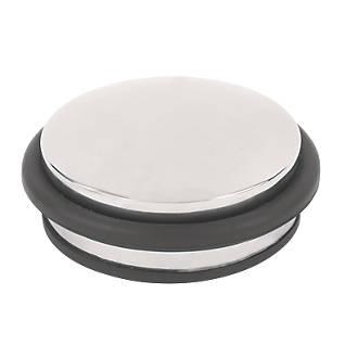 Butée de porte en forme de dôme en acier inoxydable poli