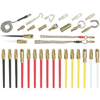 Kit de baguettes tire-fils Cable Rod Mega 15m 28pièces