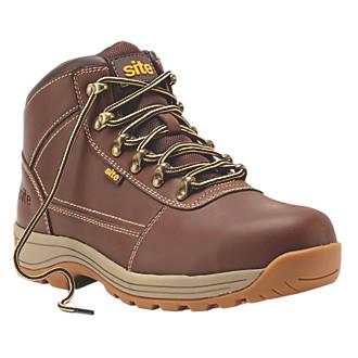 Chaussures de sécurité Site Amethyst marron taille 46