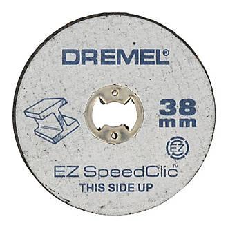 12 disques métaux à tronçonner Dremel SpeedClic 38 mm
