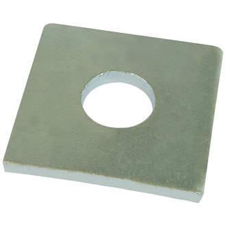 50rondelles carrées en acier Easyfix M12 x4mm