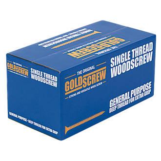 1000vis à double tête fraisée polyvalentes PZ Goldscrew 4 x40mm
