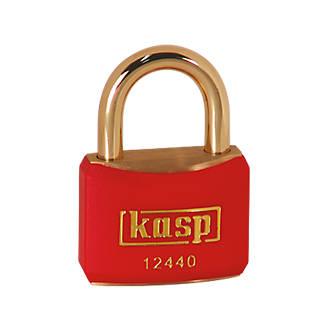 Cadenas de verrouillage Kasp rouge20 x21mm