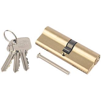 Cylindre européen à 6points Smith & Locke 35-45 (80mm) en laiton