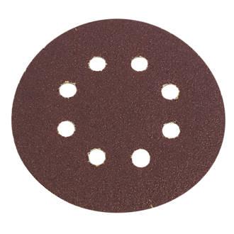 Lot de 6disques de ponçage perforés Flexovit 115mm grain50