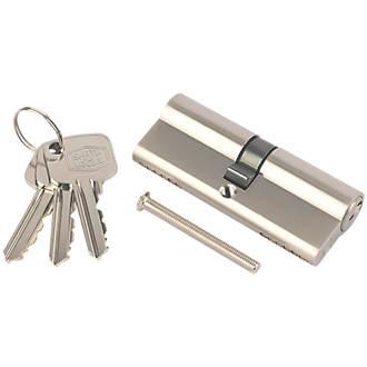 Cylindre européen à 6points Smith & Locke 30-30 (60mm) en nickel