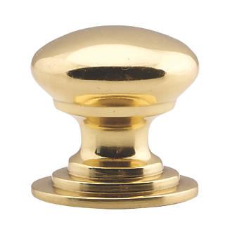 Poignée de placard style victorien Carlisle Brass en laiton poli 50mm