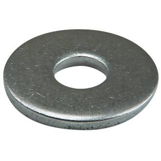 50rondelles plates larges en acier inoxydable A2 Easyfix M5 x1,2mm