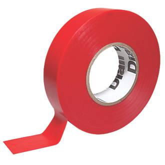 Ruban isolant510 rouge 33m x19mm