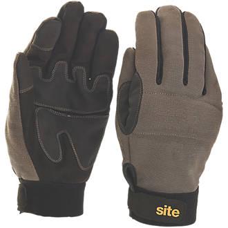 Gants à main entière hautes performances Site KF350 gris / noir tailleL