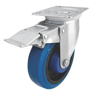 Roulette pivotante avec frein à usage intensif 125mm