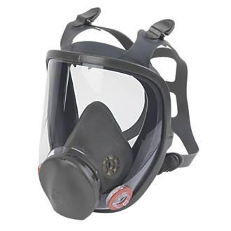 Masque intégral 3M Série6000, sans filtre, masque uniquement