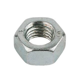 50écrous hexagonaux en acier zingué brillant Easyfix M20