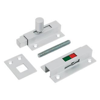 Verrou avec indicateur pour salle de bains Jedo en aluminium