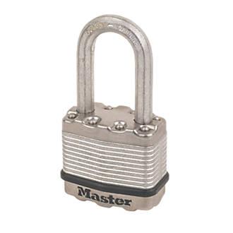 Cadenas en acier laminé résistant aux intempéries Master Lock Excell 45mm