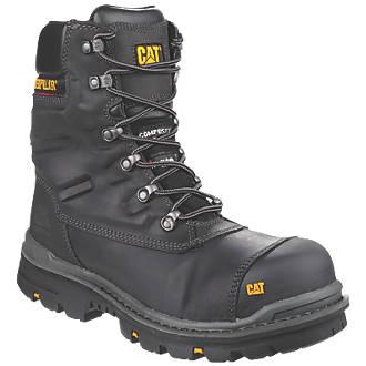 Chaussures de sécurité montantes sans métal CAT Premier noires taille 47