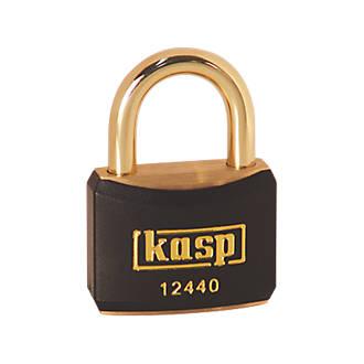 Cadenas de verrouillage Kasp noir20 x21mm