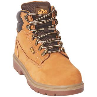 Chaussures de sécurité pour femme Site Skarn miel taille 35
