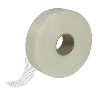 Ruban en maille de fibres de verre Diall blanc 90m x 50mm