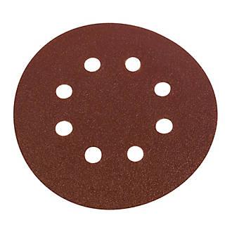 Lot de 6disques de ponçages perforés Flexovit 125mm grain50 / 80 / 120
