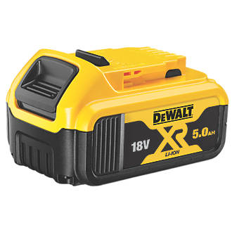 Batterie à glissière DeWalt XR DCB184-XJ 18V 5,0Ah Li-ion
