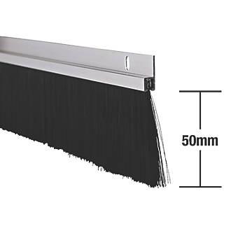 Lot de 2joints pour portes industrielles Stormguard en aluminium 1,25m