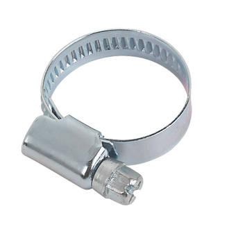 10colliers de serrage zingués bleus Easyfix 16-25mm