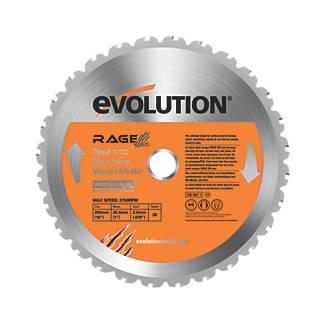 Lame de scie circulaire 28dents Evolution 255 x 25,4mm