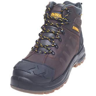 Chaussures de sécurité montantes DeWalt Hadley marron taille 41