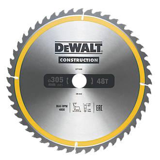 Lame de scie circulaire 48dents DeWalt 305 x 30mm