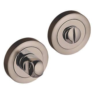 Kit de verrou à bouton à barrette standard Smith&Locke en nickel noir 50mm