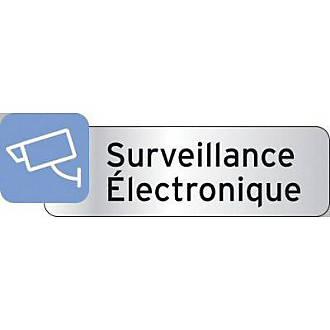 "Plaquette indicatrice ""Surveillance"""