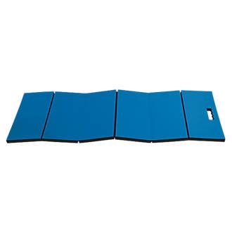 Tapis de mécanicien pliant Laser6083 bleu /noir