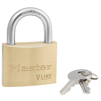 Cadenas en laiton Master Lock 4150 VLine 50mm