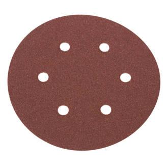Lot de 6disques de ponçage perforés Flexovit 150mm grain50