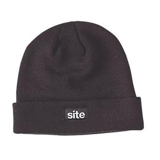 Bonnet tricoté Site Thinsulate noir
