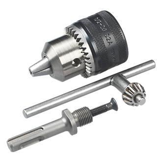 Mandrin à clé Bosch 2607000982 et adaptateur SDS+ 13mm