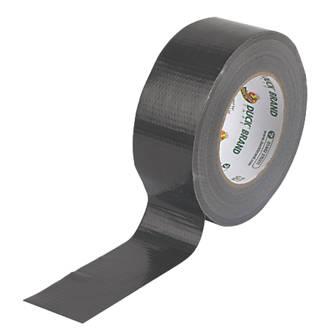 Ruban adhésif toilé maille50 Duck Original noir 50m x50mm