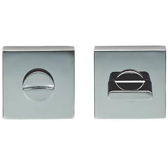 Kit de verrou à bouton à barrette standard Carlisle Brass en chrome poli 52mm