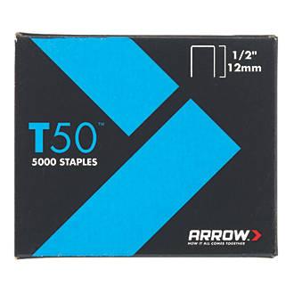 5000agrafes à usage intensif galvanisées Arrow12 x10mm