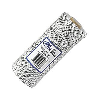 Cordeau de maçon Marshalltown blanc moucheté 152m