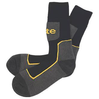 Chaussettes de travail Site Comfort noir / gris taille 41-46, 3paires