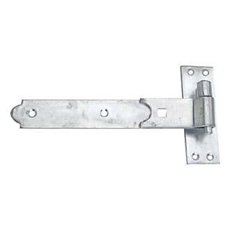 Crochet et bande droits pour charnière de portail Smith&Locke40 x250 x133mm