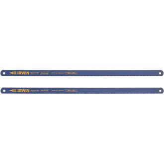 """2lames de scie à métaux bimétal 24dpp Irwin 12"""" (300mm)"""