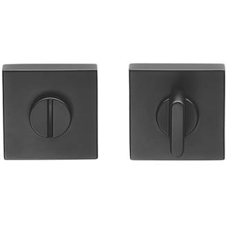 Kit de verrou à bouton à barrette standard Carlisle Brass noir 52mm