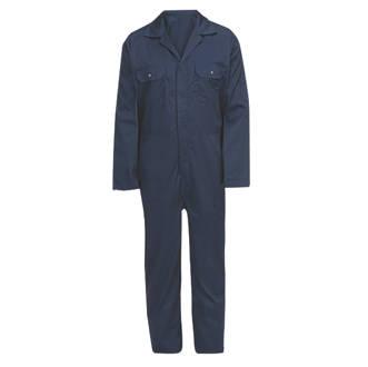 """Combinaison à usage général bleu marine tailleXXL, tour de poitrine 60½"""" et longueur de jambe 31"""""""